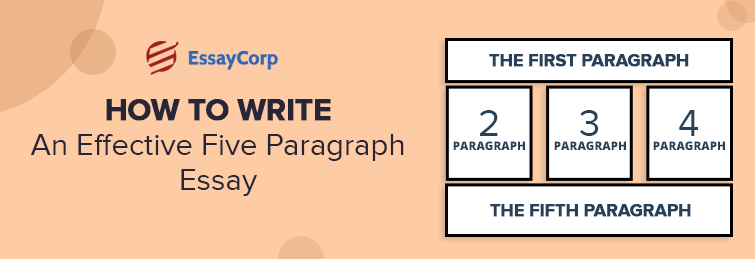 How To Write An Effective Five Paragraph Essay
