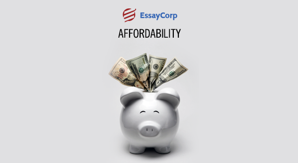 Affordable Service- By EssayCorp