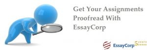 Assignment Proofread- EssayCorp
