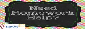 Homework Help- EssayCorp