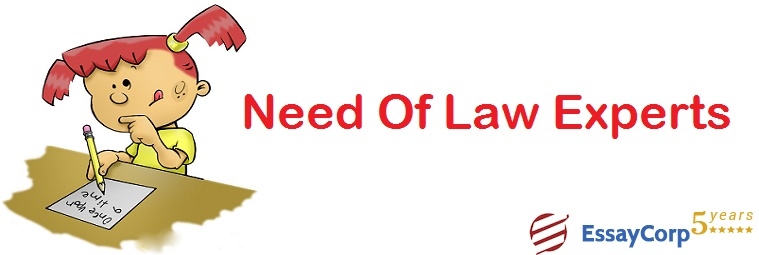 Need of Law Experts