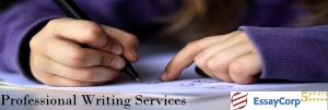Professional Writing Service- EssayCorp