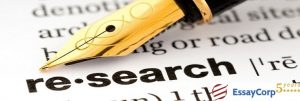 Research Report Writing- EssayCorp