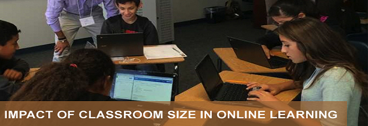 Impact of Classroom Size in Online Learning