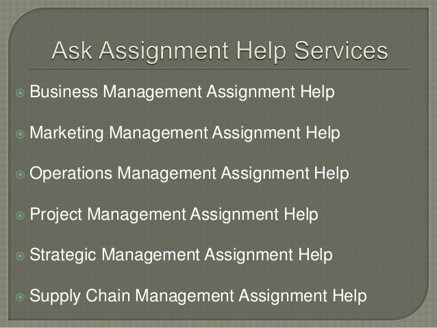 Management Assignment Help Online