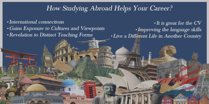 How Studying Abroad Helps Your Career?