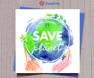 Earth Day-EssayCorp