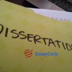 Dissertation Writing-EssayCorp