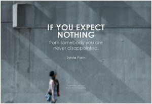 Expect Nothing From Everybody- EssayCorp