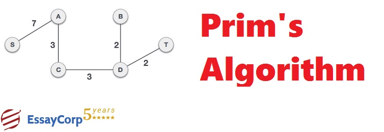 Prim's Algorithm And Example