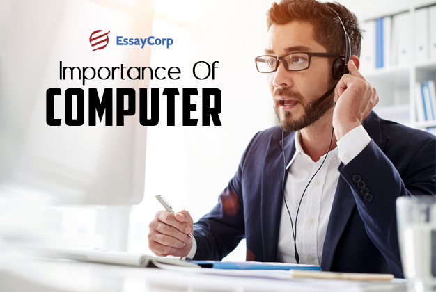 role computers today essay Importance of computers in everyday life  surely computers have very elaborated role in daily day life of humans the biggest proof is present at our surroundings.