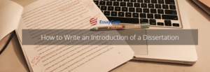 Introduction To Dissertation