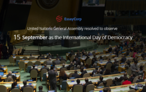 History Of Democracy Day- By EssayCorp