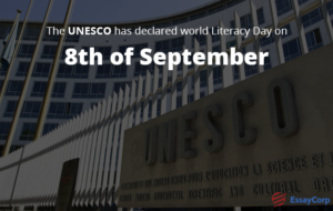 UNESCO World Literacy Day- By EssayCorp