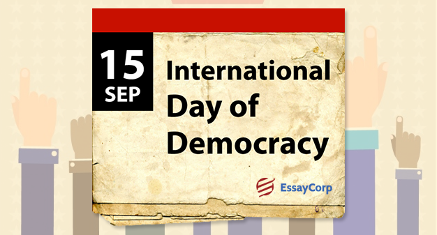International Democracy Day-By EssayCorp