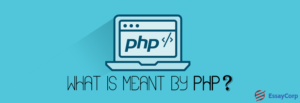 What Is Meant By PHP?