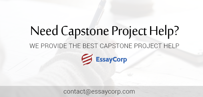 Capstone project by essaycorp