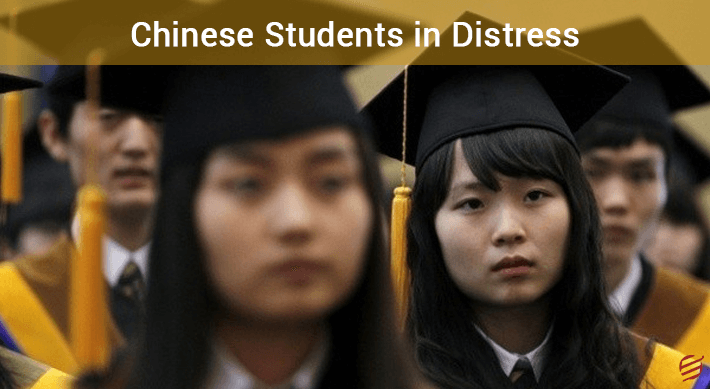 Chinese students in distress