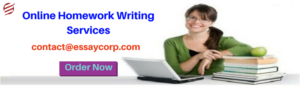 Online Homework Writing Services
