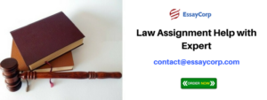 Law Assignment Help with Expert