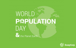 World Population Day plant earth