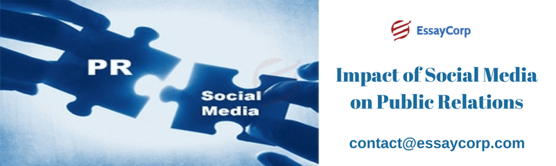 Impact Of Social Media On Public Relations