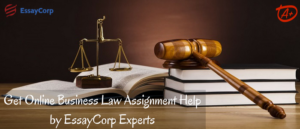 Law Assignment Help by EssayCorp Experts