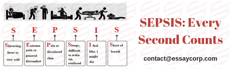 SEPSIS: Every Second Counts