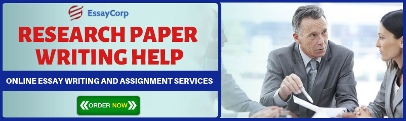 Get Professional Research Paper Writing Help from EssayCorp