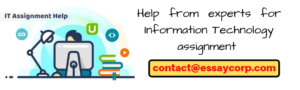 Get help from experts for information technology assignment and score well