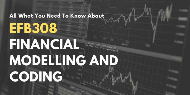 All What You Need To Know About EFB308 Financial Modelling and Coding