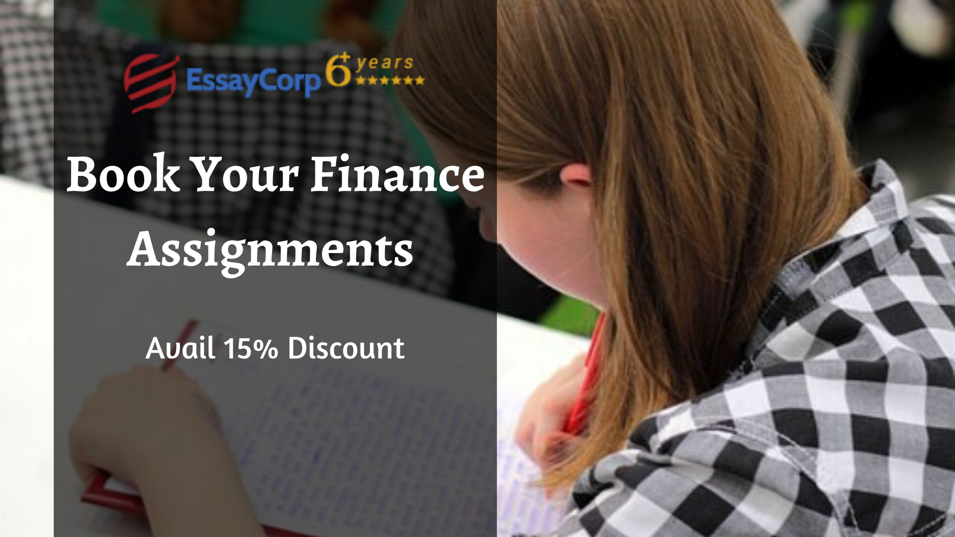 Book Your Finance Assignments | Avail 15% Discount