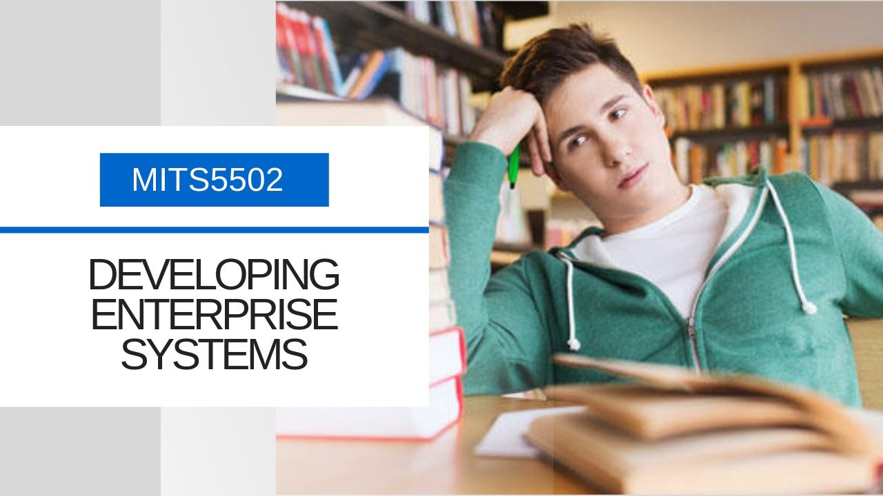 MITS5502 – Developing Enterprise Systems | Assignment Help