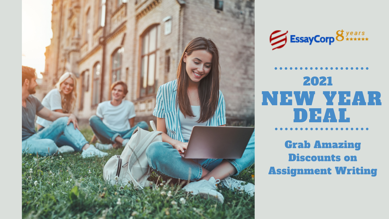 New Year Deal: Grab Amazing Discounts on Assignment Writing