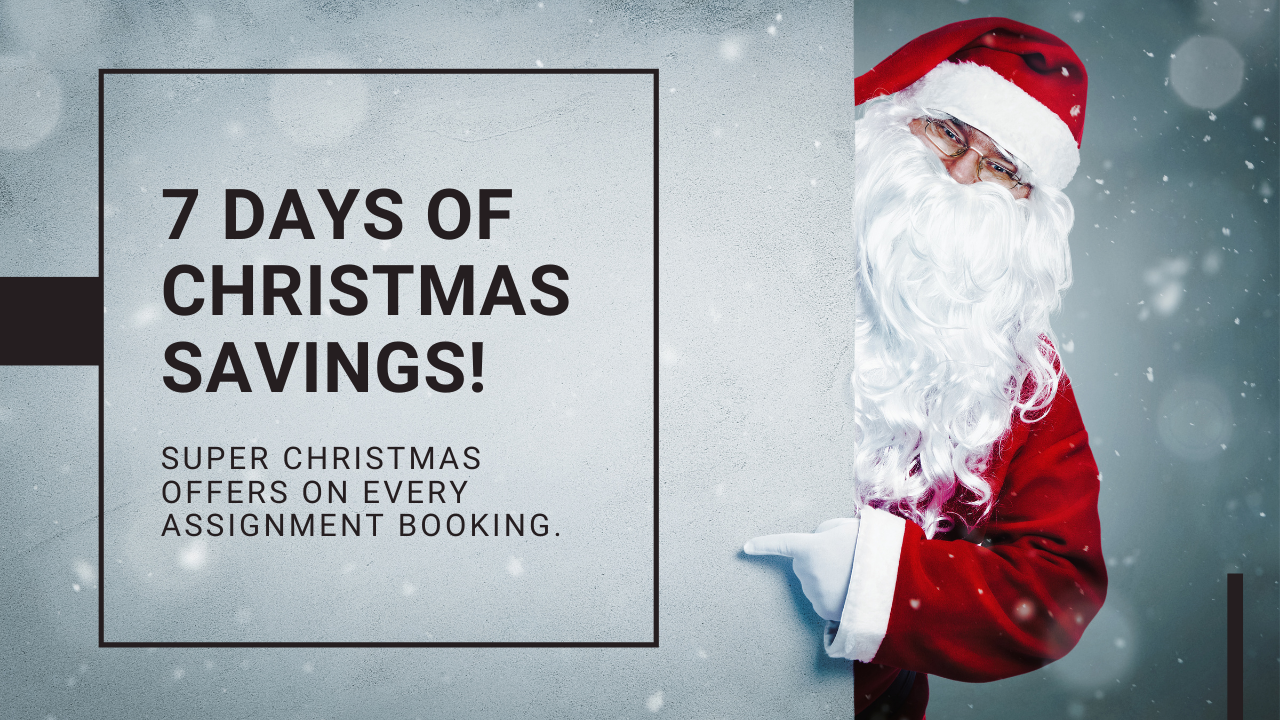 Christmas Super Offers on Every Assignment Booking. Hurry Up!