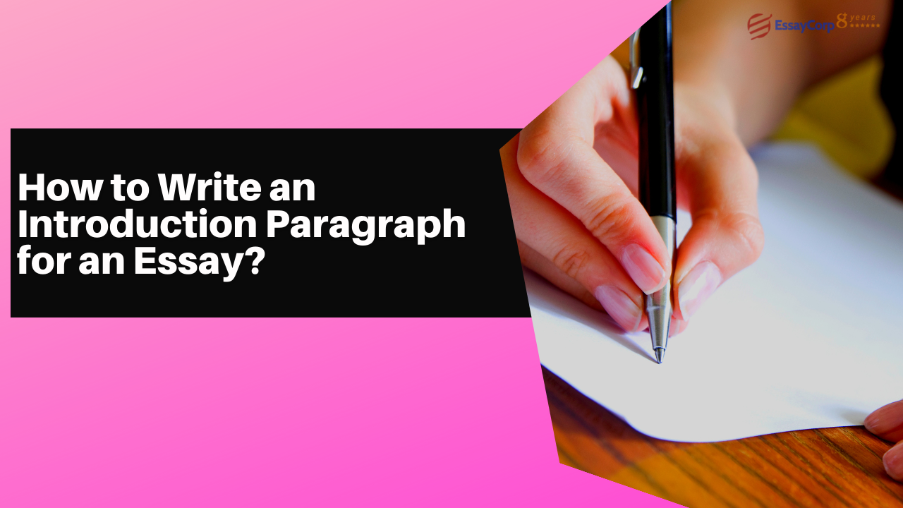 How to Write an Introduction Paragraph for an Essay?