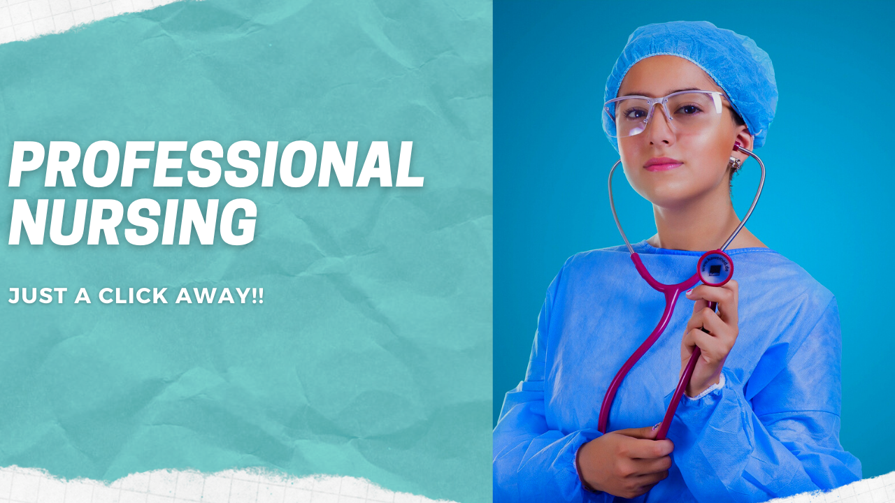 Professional Nursing Assignment is Just a Click Away!!