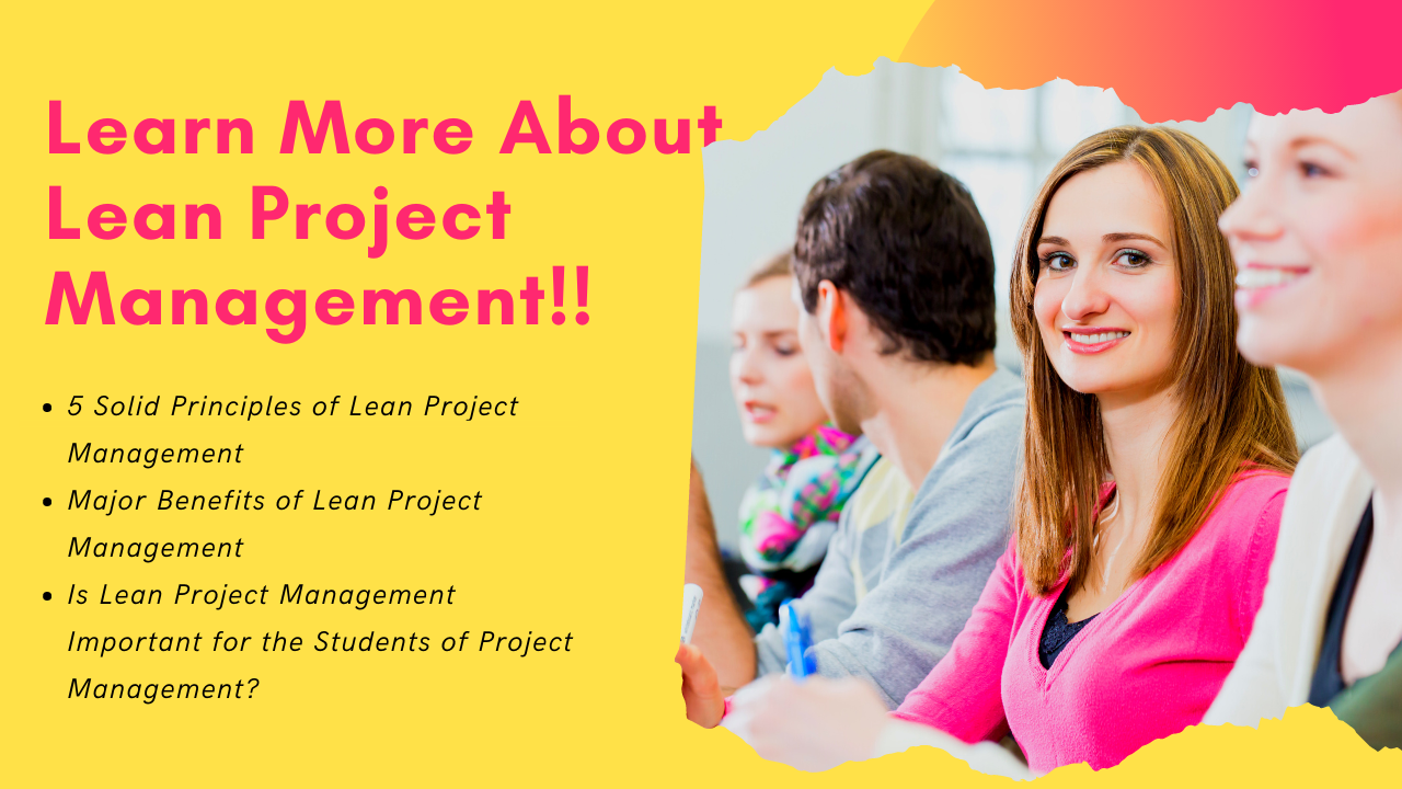 Learn More About Lean Project Management